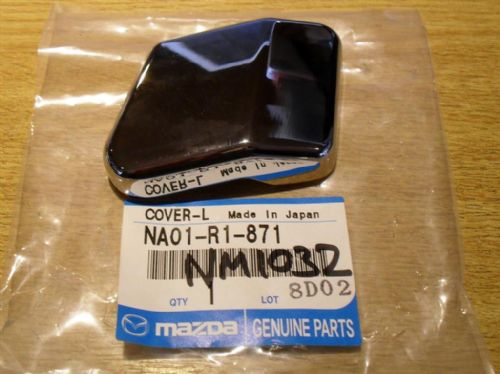 Hardtop rear deck lock chrome cover, l/h, Mazda MX-5, NA01R1871